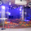 Empty disco dancefloor — Stock Photo