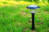 Solar lamp — Stock Photo