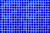 Blue background from mosaic — Foto de Stock