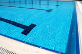 Swimming pool edge — Foto Stock