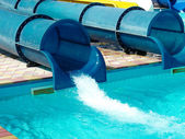 Aquapark bouw — Stockfoto