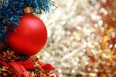 圣诞装饰概念 — 图库照片
