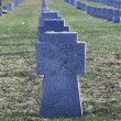 Soldiers' graves — Stock Photo
