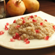 Royalty-Free Stock Photo: Pomegranates rice