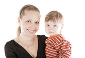 Image mother and son — Stock Photo