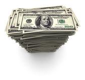 One Hundred Thousand Dollars - Bills Stack — Stock Photo