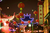Chinatown Los Angeles at Night — Stock Photo