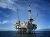 Plate-forme de forage offshore oil rig — Photo