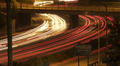Interstate 5 Freeway at Night — Stock Photo