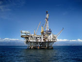 Offshore Oil Rig Drilling Platform — Foto de Stock