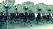 Platos de radio comunicación — Foto de Stock