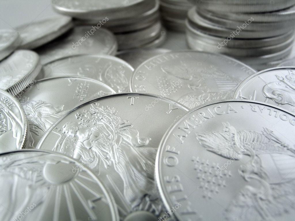 Silver Bullion Wallpaper Silver U.s Bullion Coins