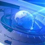 World Globe Digital Network Connection Background — Stock Photo