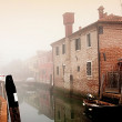 House in Torcello island, Italy - Stok fotoraf