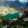 Landscape from Balea Lake, Fagaras Mountains, Romania in the summer — Stock Photo #8828720