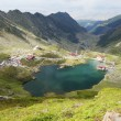 Stock Photo: Landscape from Balea Lake, Fagaras Mountains, Romania in the summer