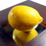 Close-up lemon — Stock Photo