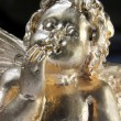 Guardian angel in Gold — Stock Photo