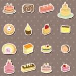 Cake stickers — Stock Vector #10268706