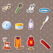 Stock Vector: Pet tool stickers