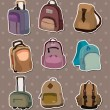 Royalty-Free Stock Vector Image: Bag stickers