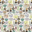 Seamless Kitchen pattern — Stock Vector #8037341