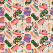 Royalty-Free Stock  : Seamless Pumpkins pattern