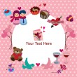 Valentine's Day card — Stockvector #8037867