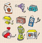 Housework element icon — Stock Vector