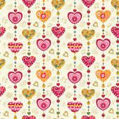 Seamless love pattern — Stock Vector