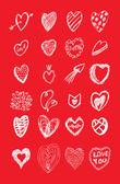 Heart icon vector — Stock Vector