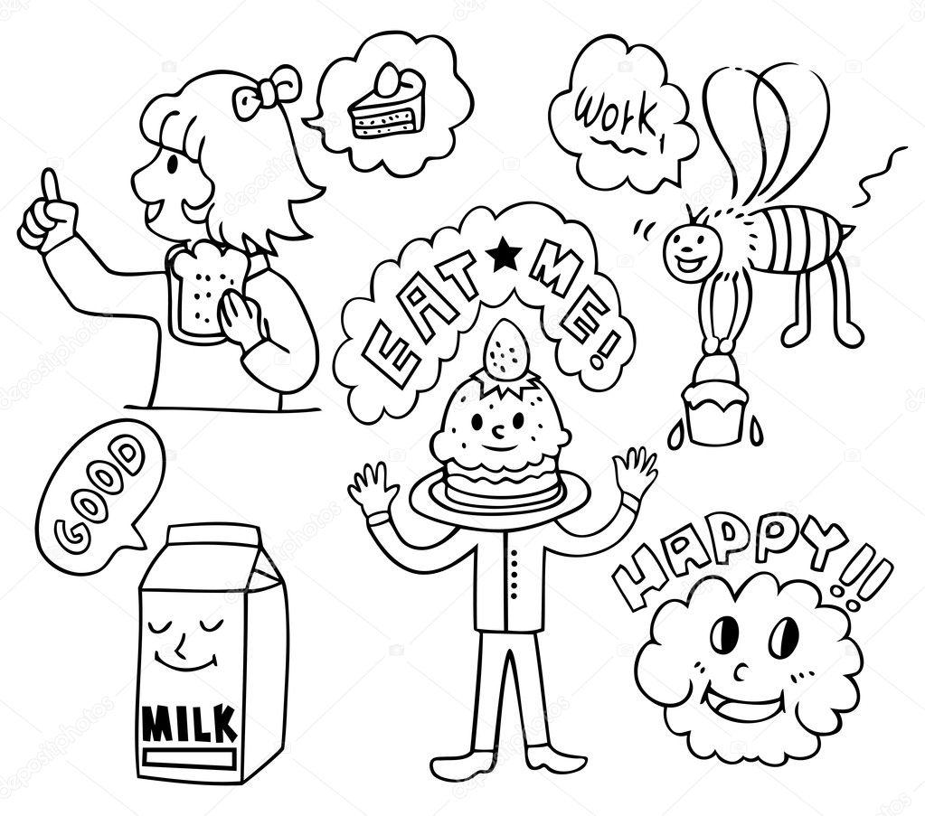 Funny Cute Food Cartoons Funny Cute Food Cartoon