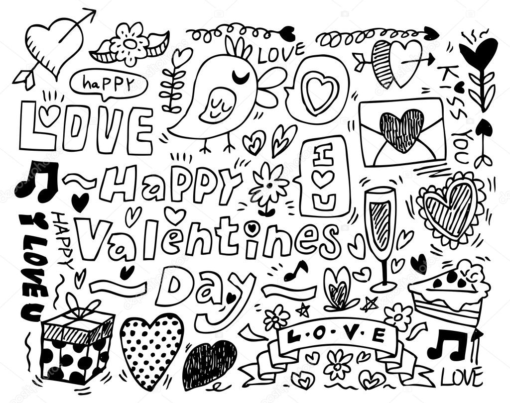 besides  further  additionally  besides d9e8702cc397d3664e2369f389b6a194 as well  likewise  in addition  in addition depositphotos 8036920 Valentines Day doodle moreover  further . on printable christmas coloring pages google