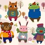 Cartoon animals — Stock Vector #8091542