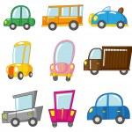 Cartoon car — Stock Vector #8094379
