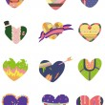 Cartoon Heart icon — Stock Vector