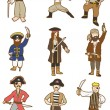 Cartoon Pirate icon - 