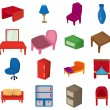 Royalty-Free Stock Vector Image: Cartoon Furniture icon