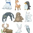 Cartoon animal icon — Stockvector  #8095087