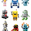Cartoon robots — Stock Vector #8095101