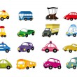 Cartoon car icon - Stock Vector
