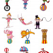 Cartoon circus — Stock Vector