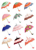 Cartoon umbrella — Stock Vector
