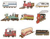 Cartoon Train — Stock Vector