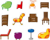 Cartoon furniture icon — Stockvektor