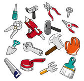 Doodle tools — Stock Vector