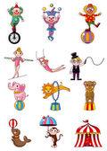 Cartoon circus — Stock Vector