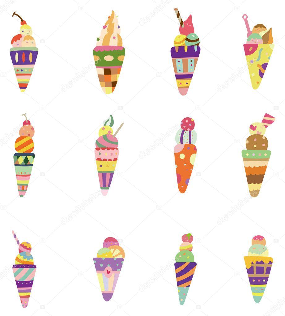 Download Cartoon Ice Cream Wallpaper Gallery: Stock Vector © Mocoo2003 #8093682