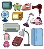 Cartoon home appliance icon — Stock Vector