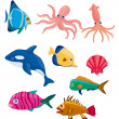 Royalty-Free Stock Vector Image: Cartoon fish icon
